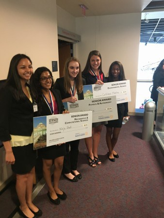 First in Physics and Astronomy at the Orlando Sicence Challenge competition